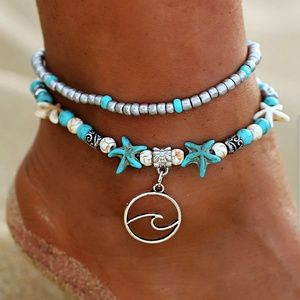 NWT *2 for $25* Fashion Bracelet/Anklet